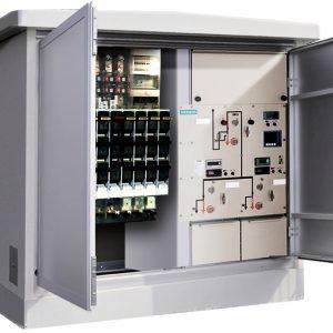 Siemens entwickelt kompakte Schaltanlage für Verteilnetze / Siemens develops compact switchgear for distribution systems